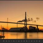 Hamburg Köhlbrandbrücke Foto 1