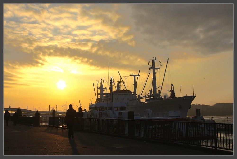 Hamburger Hafen Foto 6