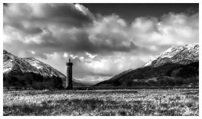 Schottland Fotos Glenfinnan Monument
