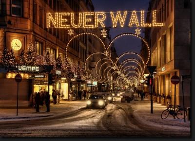 Hamburg Neuer Wall - Weihnacht Fotos